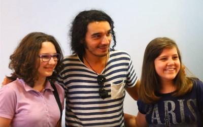 Погледајте дружење Немање Радуловића са ученицима у нашој школи