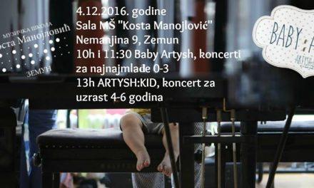 ARTYSH: Концерти за бебе и децу