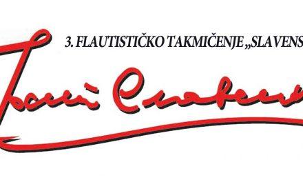 """3. ФЛАУТИСТИЧКО ТАКМИЧЕЊЕ """"СЛАВЕНСКИ"""" (15.-17. 12. 2016.), Београд"""