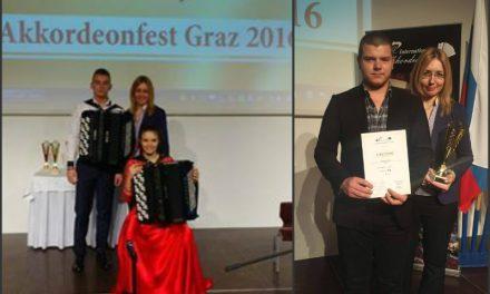 """Интернационално такмичење """"AKKORDEONFEST"""", Грац, Аустрија"""