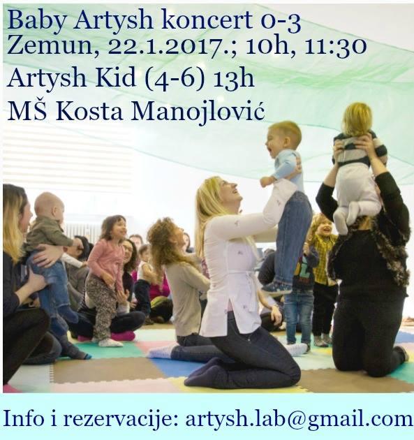 Baby Artysh и Artysh Kid КОНЦЕРТИ