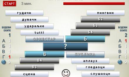 III КВИЗУМ- Резултати такмичења