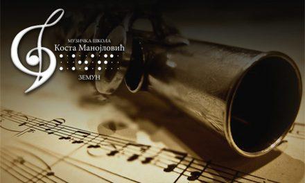 """VIII такмичење ученика хармонике  у М.Ш. """"Јован Бандур"""" у Панчеву"""