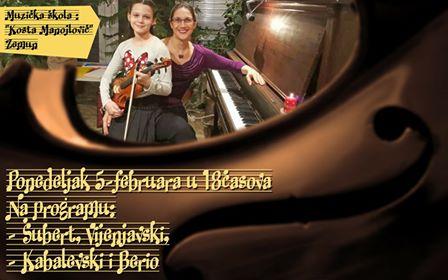 АНЂЕЛА ЈОСИФОСКИ (виолина)- СОЛИСТИЧКИ КОНЦЕРТИ