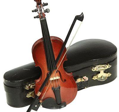 Захвалница донаторима виолина