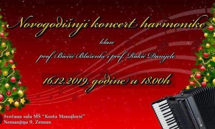Новогодишњи концерт хармонике