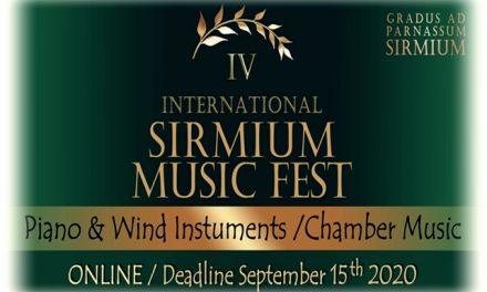 УСПЕХ УЧЕНИКА КЛАВИРСКОГ ОДСЕКА – SIRMIUM music fest 2020 и  Смотра талената УМБПС-а