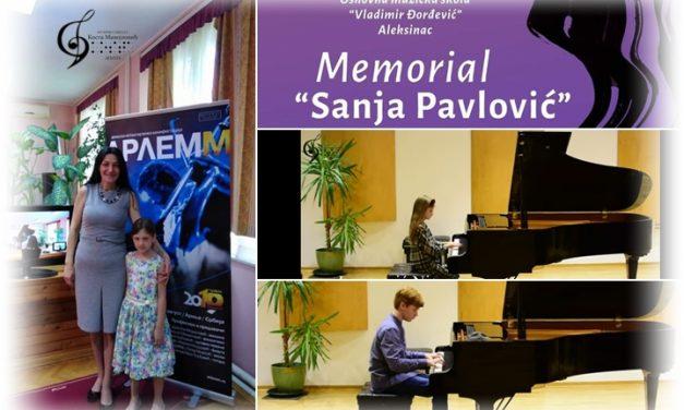 Меморијал Сања Павловић, Алексинац