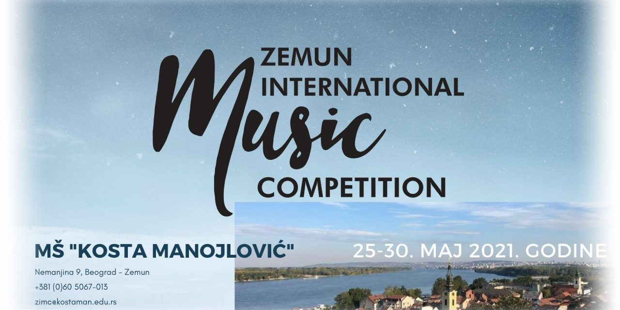 ZEMUN INTERNATIONAL MUSIC COMPETITION