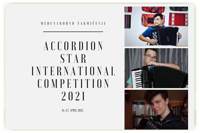 ACCORDION STAR INTERNATIONAL COMPETITION 2021 – USA