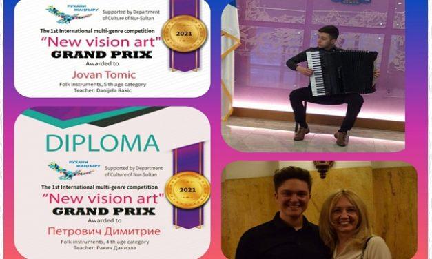 NEW VISION ART, Нур-султан- Казахстан, јун 2021.